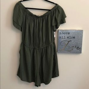 Old Navy Green New With Tags Romper